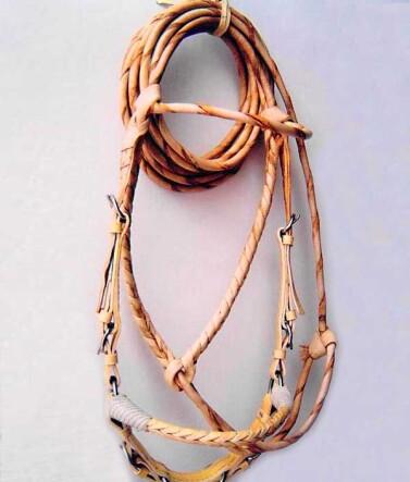 Handmade Rawhide Jaquima