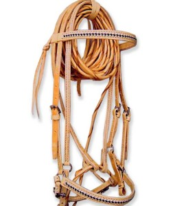 natural show or trail bridle