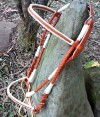 Russet Red Leather Show Bridle
