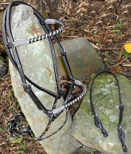 Beautiful handmade Spanish or Western Bridle