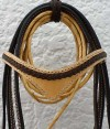 Browband Natural and Chocolate Leather Handmade Bridle