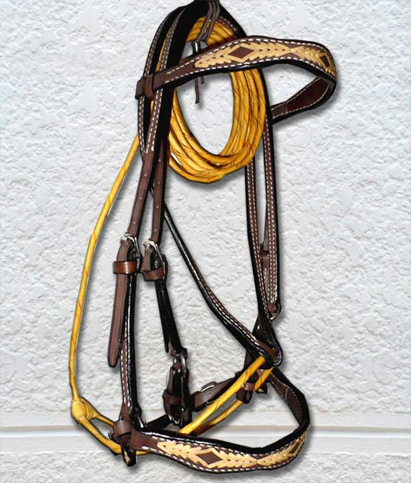 0020 Coffee Bridle
