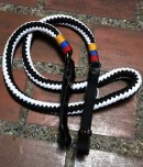 Colombian Flag Colors on rope reins