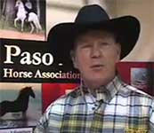 John Lyons on Paso Finos