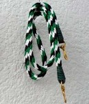 green white and black reins