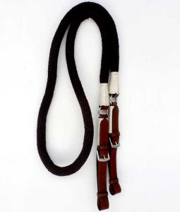 Leather and Rope Reins