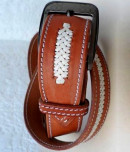 Custom, handmade belt to match your horse tack.