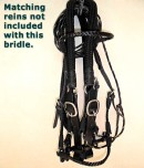 handmade braided leather bridle