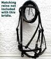 Beautiful, handmade bridle Style 0015