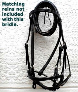 Beautiful, handmade bridle Style 0015