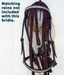 for sale handmade paso fino bridle