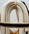 browband cream and black paso fino show bridle