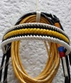 Colombian Flag Bridle Browband