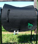 Centaur Imperial Anti-Microbial Custom Saddle Pad, embroidered with your horse's name