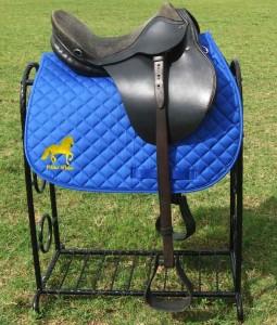 paso fino saddle pad blue