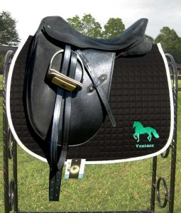 Paso Fino horse Anti-Microbial saddle pad Custom Embroidery on Both