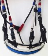 Puerto Rico or American Flag Bridle